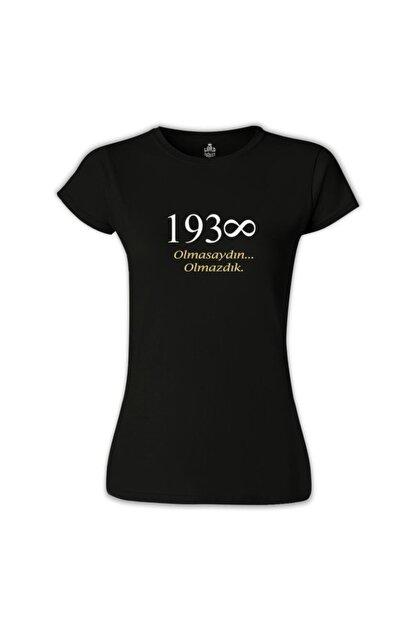 Lord T-Shirt Kadın Siyah T-shirt
