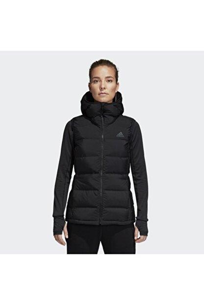 adidas W HELIONIC VEST Siyah Kadın Mont 101117470