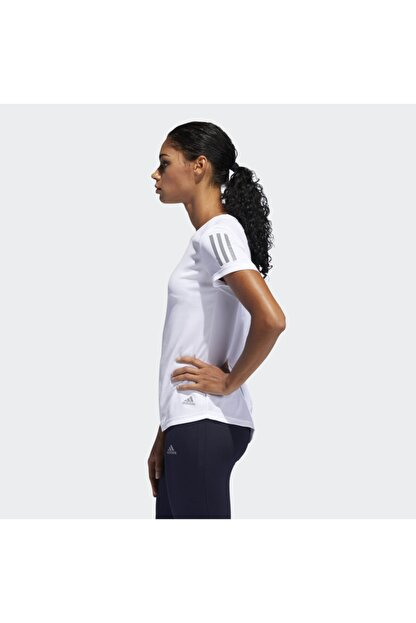 adidas OWN THE RUN TEE Beyaz Kadın T-Shirt 101015858