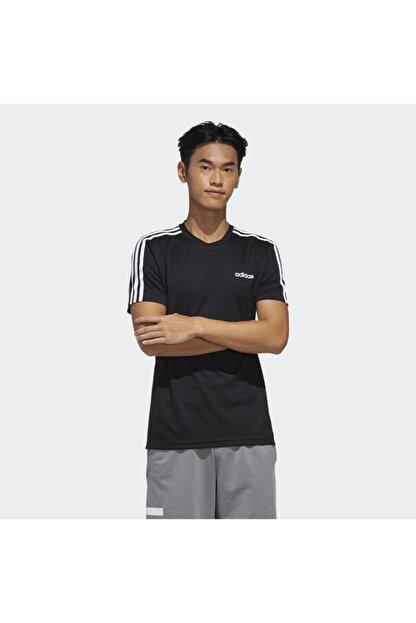adidas M D2M 3S TEE Siyah Erkek T-Shirt 101117900