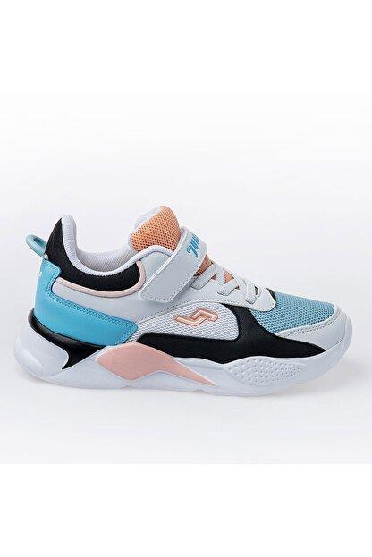 Jump Unisex Beyaz Somon Çocuk Spor Ayakkabı 24931