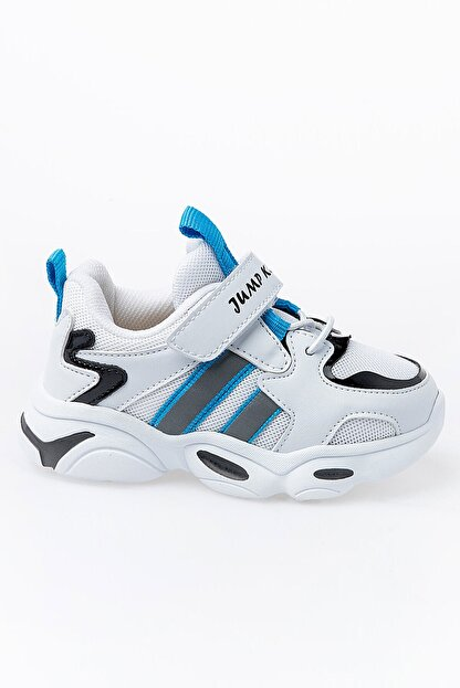 Jump Çocuk Spor Ayakkabı 26056 B Whıte/blue/black
