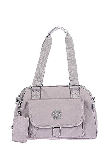Smart Bags Kadın Gri Omuz Çantası