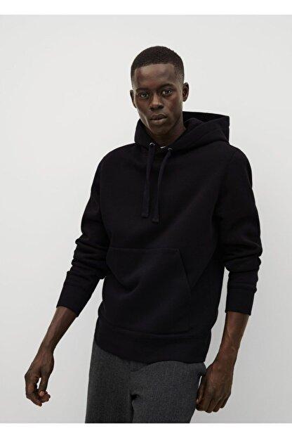 Mango Kapüşonlu Koton Sweatshirt