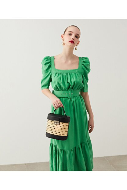 İpekyol Balon Kol Elbise