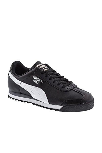 Puma Unisex Çocuk Siyah Roma Basıc Spor Günlük Ayakkabı 354259-011