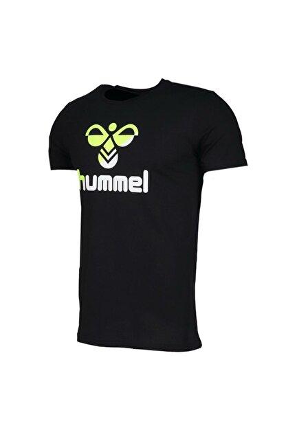 HUMMEL Rodney Siyah Kısa Kollu Erkek T-Shirt