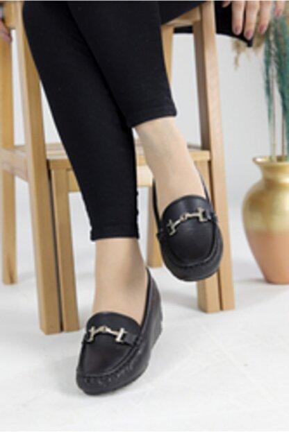 Oioi Kadın Siyah  Dolgu Topuklu Ayakkabı