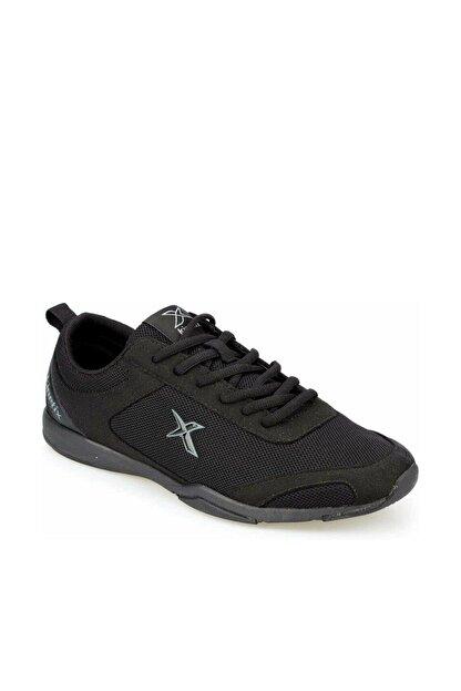 Kinetix Erkek Siyah Bağcıklı Spor Ayakkabı Valez