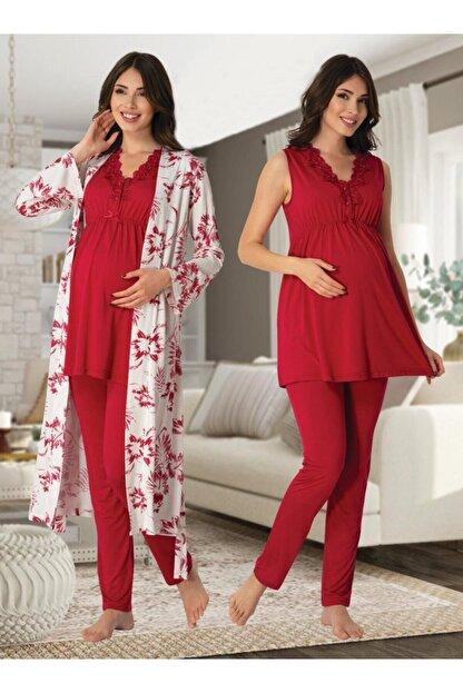 Effort Pijama Zerre Bebe Kadın Lohusa Hamile Pijama Takım Sabahlık