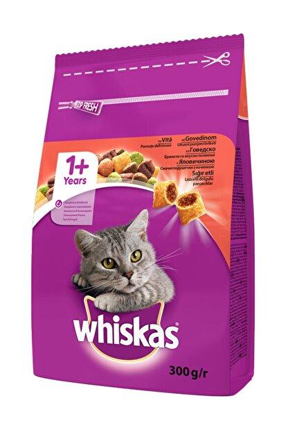 Whiskas Biftekli Ve Havuçlu Yetişkin Kedi Maması 300 gr