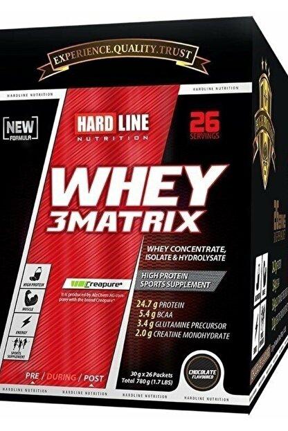 Hardline Whey 3 Matrix 30 gr 26 Saşe - Çilek