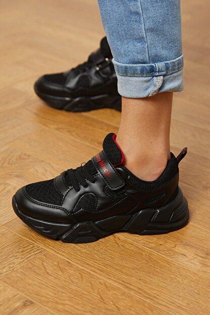 Tonny Black Siyah Çocuk Spor Ayakkabı Tb0019