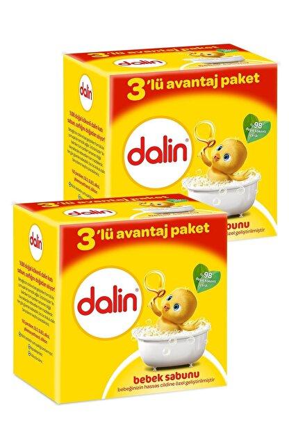 Dalin Bebe Sabun 100 gr 3'lü Avantaj Paketi x 2 Adet