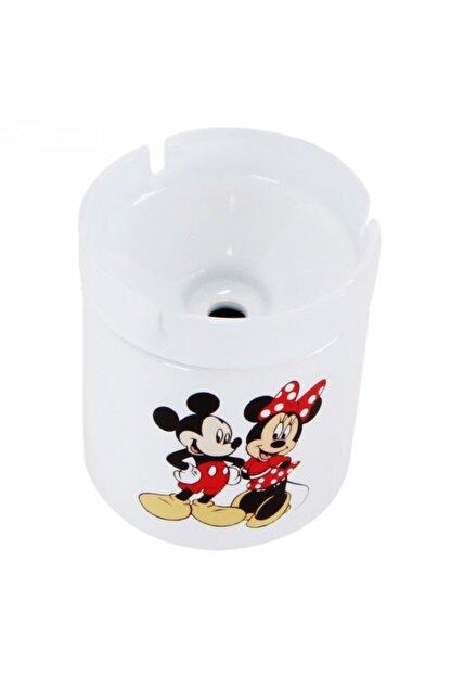HediyeKanalı Mickey Mouse Minnie Mouse Tasarımlı Seramik Küllük