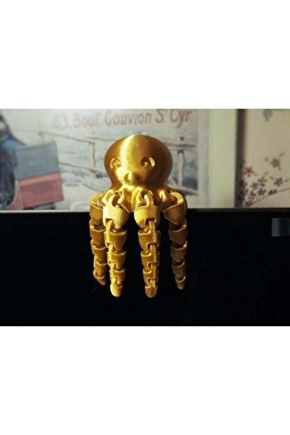 AldımGeldi Sevimli Mini Ahtapot Dekoratif Biblo Dekor Hediyelik Süs