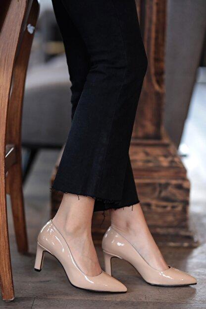 Mio Gusto Lita Ten Rugan Topuklu Ayakkabı
