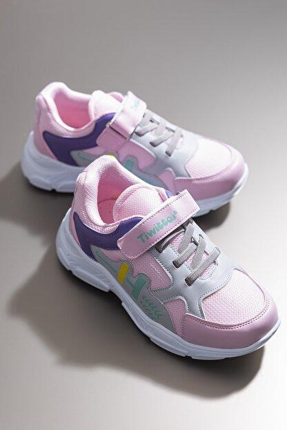 Tonny Black Kız Çocuk Pembe Spor Ayakkabı Tbz13