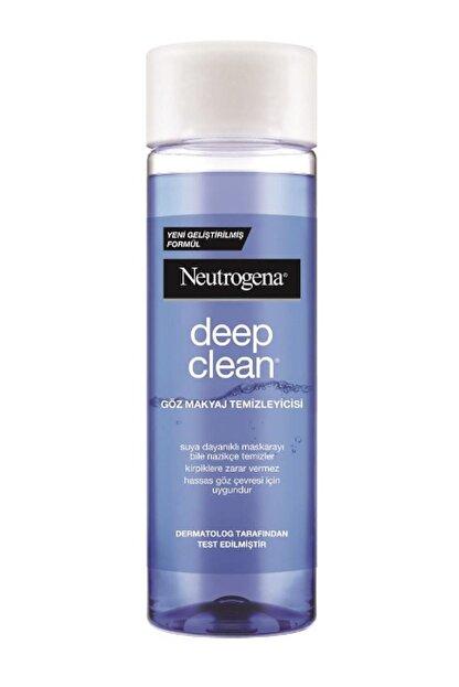 Neutrogena Deep Clean göz Makyaj Temizleyicisi 125 ml