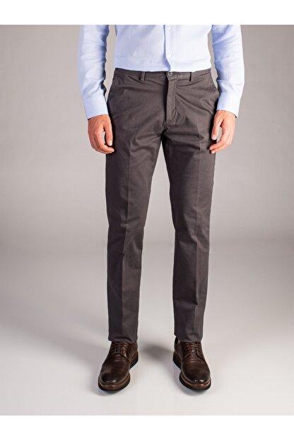 Dufy Antrasit Büyük Beden Düz Erkek Pantolon - Battal