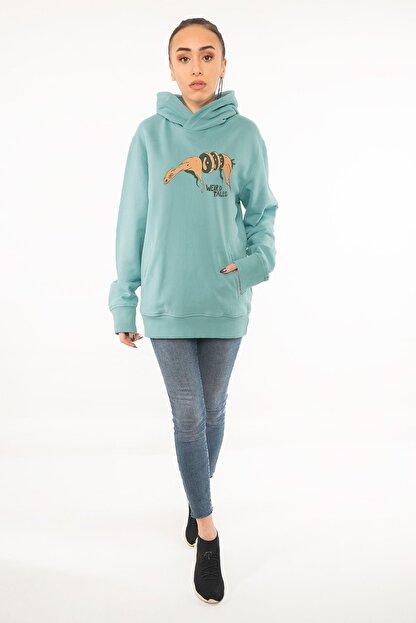 Kanduras Otherside Kadın Kapüşonlu Sweatshirt
