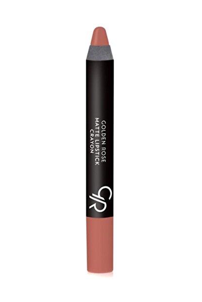 Golden Rose Mat Kalem Ruj Matte Lipstick Crayon No 18