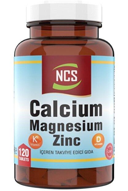 Ncs Kalsiyum Magnezyum Çinko 120 Tablet Vitamin D & K