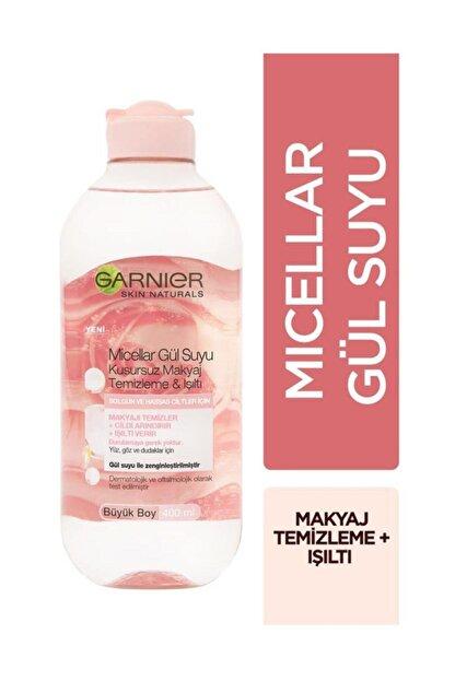 Garnier Micellar Gül Suyu Kusursuz Makyaj Temizleme & Işıltı 400 Ml 3600542326858