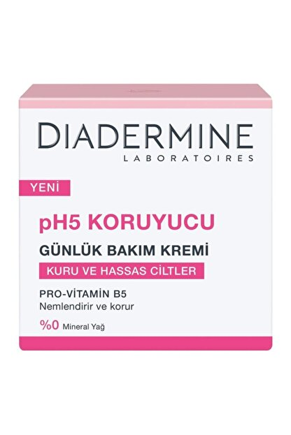 Diadermine Ph5 Koruyucu Günlük Bakım Kremi 50 Ml. (kuru Ve Hassas Ciltler/provitamin B5)