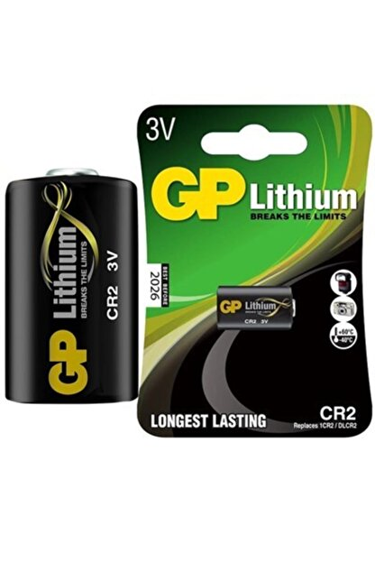 GP Cr2 3 Volt Lithium Fot.mak. Pili