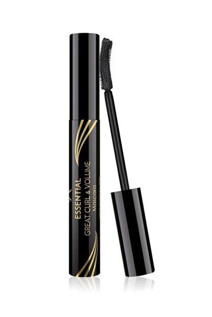 Golden Rose Kıvrım & Hacim Etkili Siyah Maskara - Essential Great Curl & Volume Mascara 8691190070618
