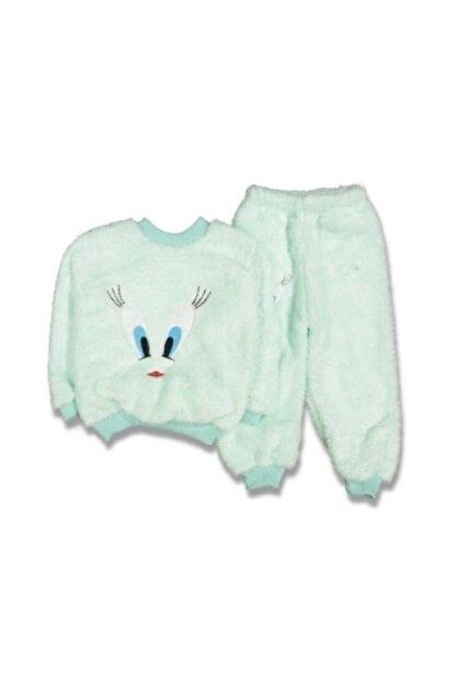 Labla Kids Welsoft Göz Nakışlı Pijama Takımı