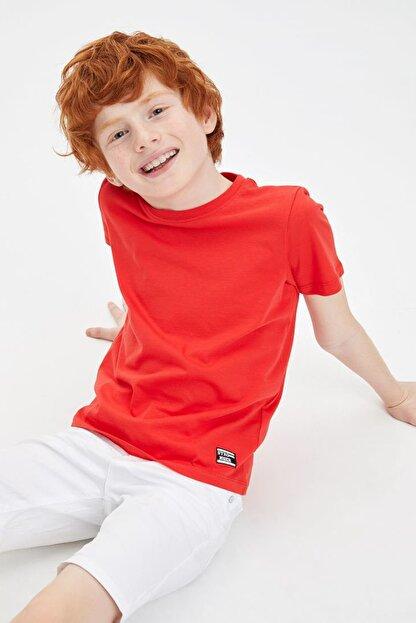 Defacto Erkek Çocuk Basic Tişört