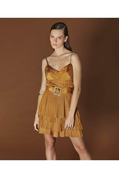 İpekyol Kadın Sarı Askılı Bluz