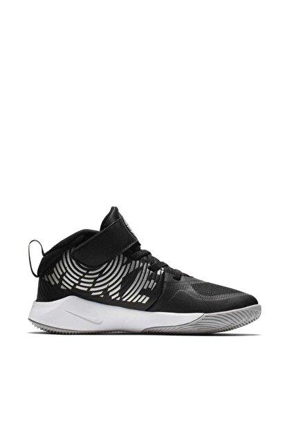 Nike Siyah Çocuk Aq4225-001 Team Hustle Basketbol Ayakkabısı