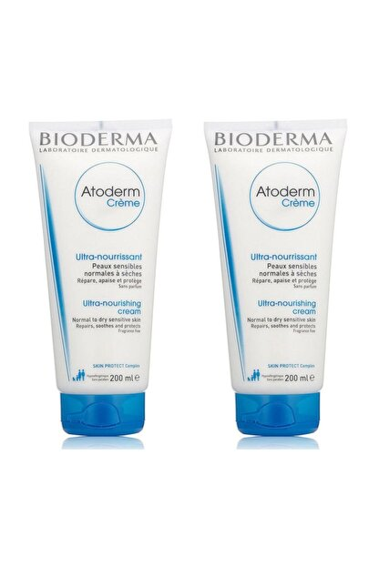 Bioderma Atoderm Cream 200 Ml 2 Adet 8374