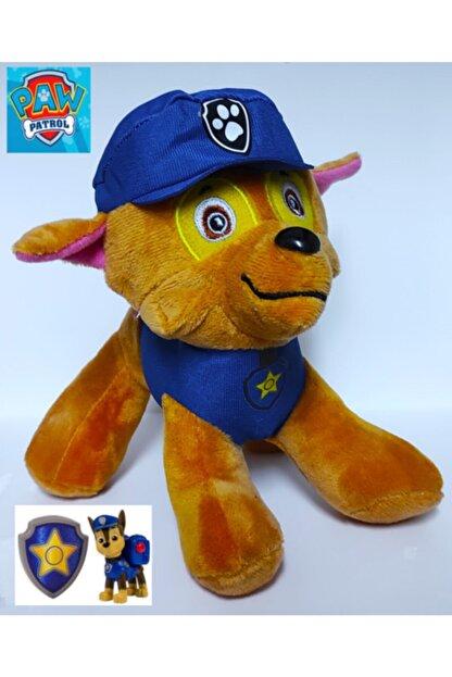 Brother Toys Paw Patrol Chase Yıkanabilir Kaliteli Peluş 20 cm