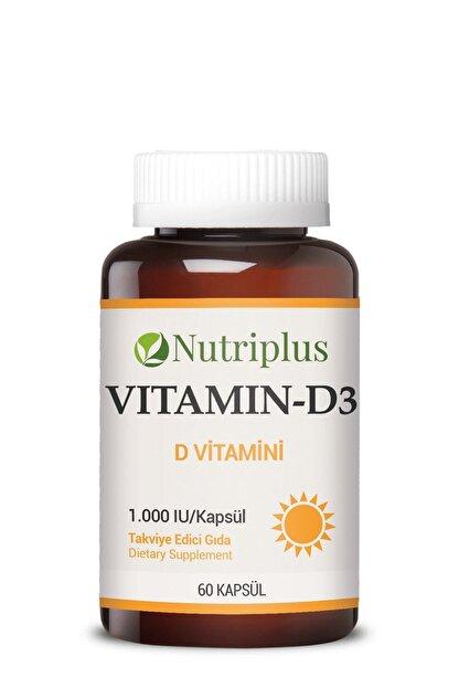 Farmasi Nutriplus D Vitamini 60 Kapsul 8690131410902 Fiyati Yorumlari Trendyol