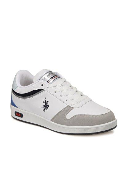 US Polo Assn Mango Beyaz Kadın Sneaker Ayakkabı