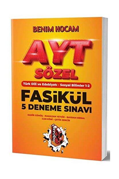 Benim Hocam Yayınları AYT Sözel 5 Fasikül Deneme Sınavı
