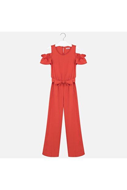 MAYORAL Kız Çocuk Kırmızı Tulum