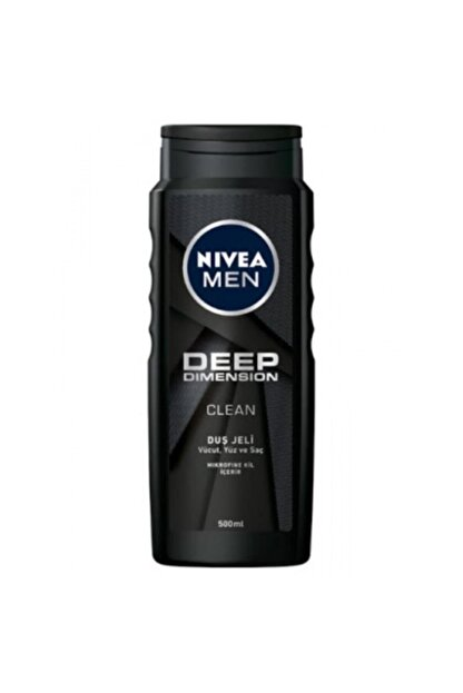 Nivea Men Duş Jeli 500ml Deep Dımensıon-6'lı Paket