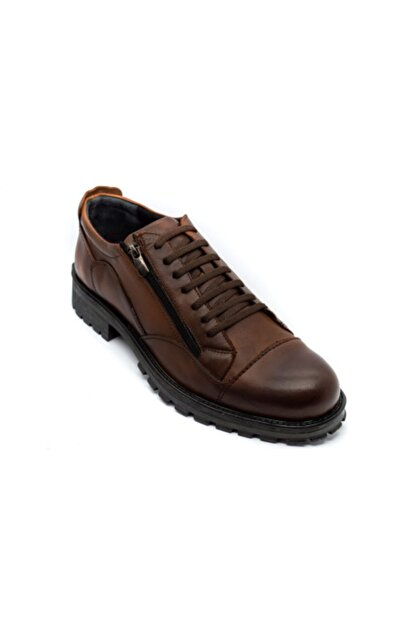 Onur Ayakkabı Erkek Taba Hakiki Deri Kışlık Ayakkabı