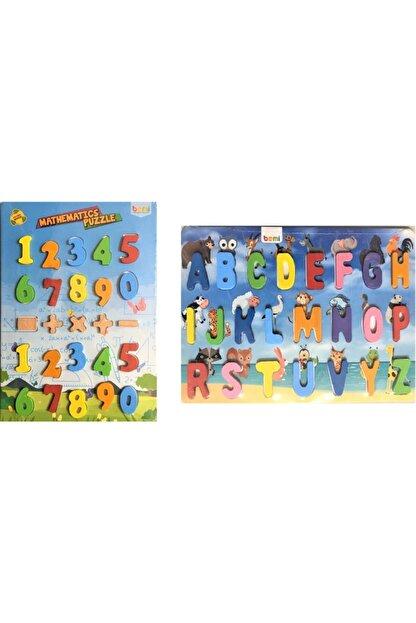 BEMİ Mateatik Puzle Ve Alfabe Puzzle