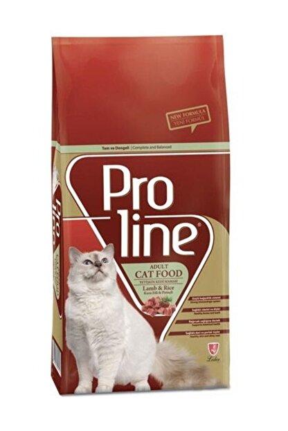 Pro Line Proline Kuzu Etli Ve Pirinçli Yetişkin Kedi Maması 15 Kg