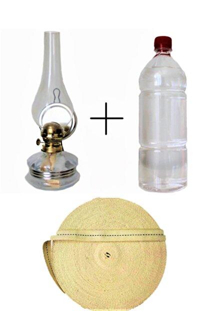 Sözen Klasik Gaz Lambası 500 ml Kandil Yakıtı 1 metre Fitil