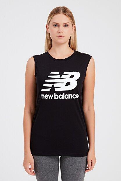 New Balance Kadın T-shirt - Vom Athlete Tee - V-WTT917-BK