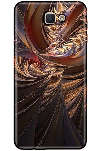 Turkiyecepaksesuar Samsung Galaxy J5 Prime Kılıf Silikon Baskılı Desenli Arka Kapak