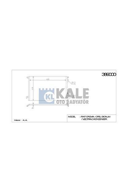 KALE Klima Radyatoru (opel: Signum-vectra C-croma 1.6ı-18ı 02= ) - Klr-389000
