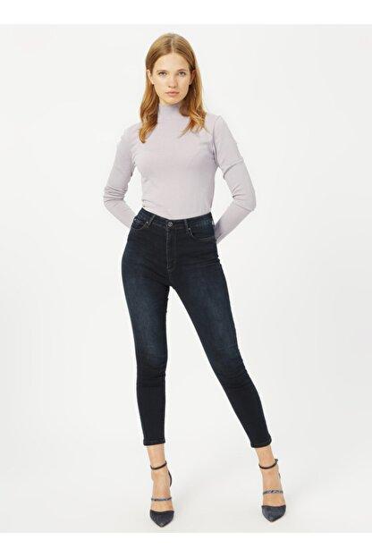 Loft Lf2025593 Kadın Natalıe Sara Blue Black Wash W Denim Pantolon 20k